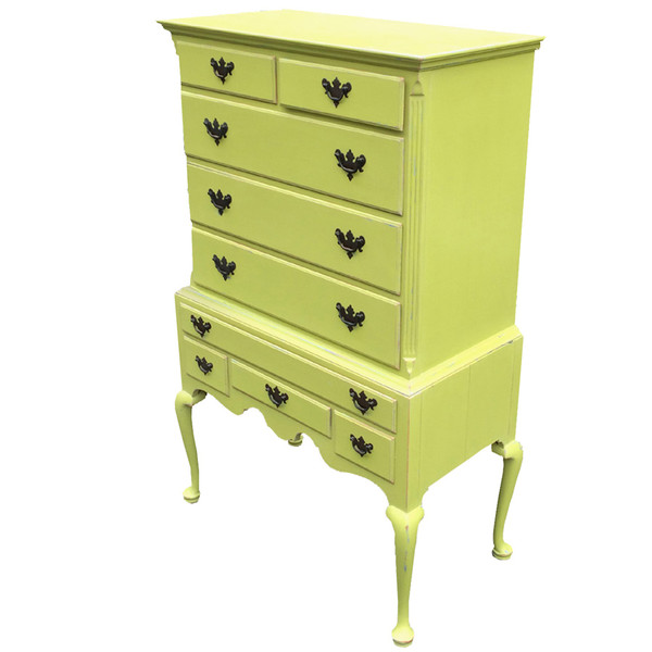 Tallboy Dresser in Green Apple