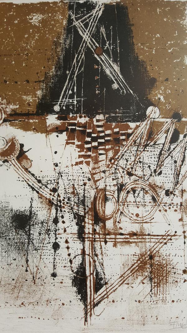 Les Oiseaux - Signed Print by Johnny Friedlaender