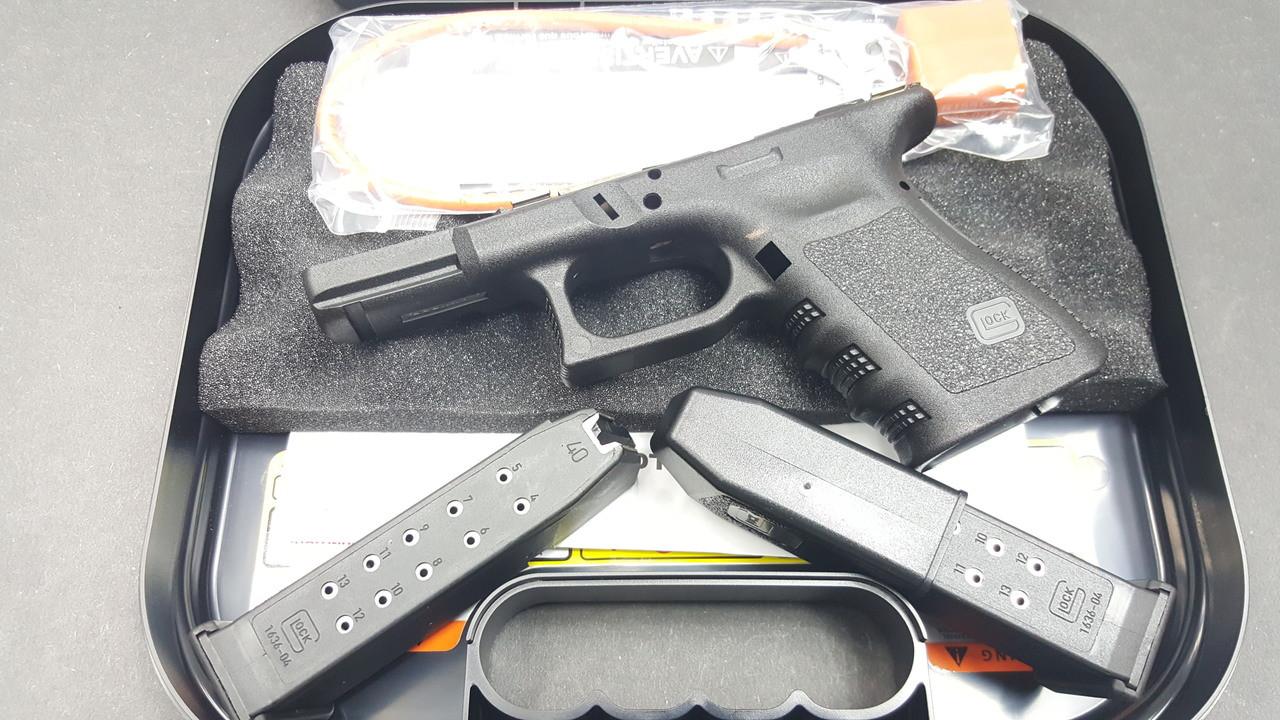 Glock 23 Gen 3 Stripped frame w/case 2 each 13 round mags - Legion ...