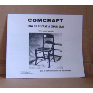 HOW TO RE-CANE A CHAIR SEAT