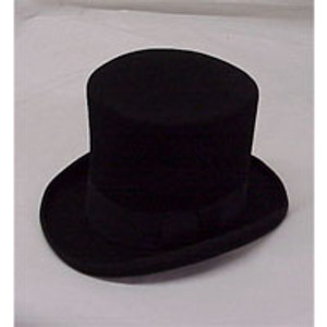BLACK TOP HAT, X-LARGE