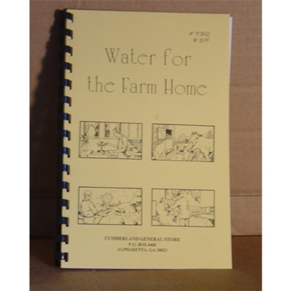 WATER FOR THE FARM HOME