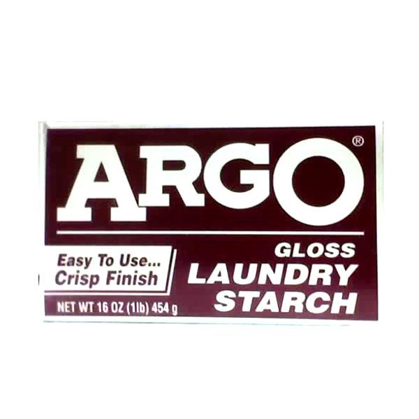 ARGO GLOSS LAUNDRY STARCH 1LB BOX