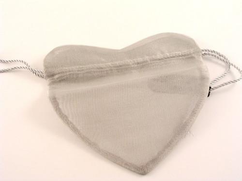 Heart bags Silver PZ21S
