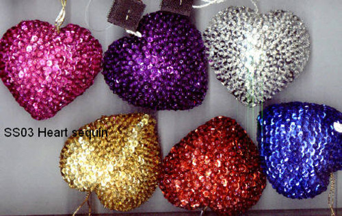 Heart Sequin Assorted SS03A