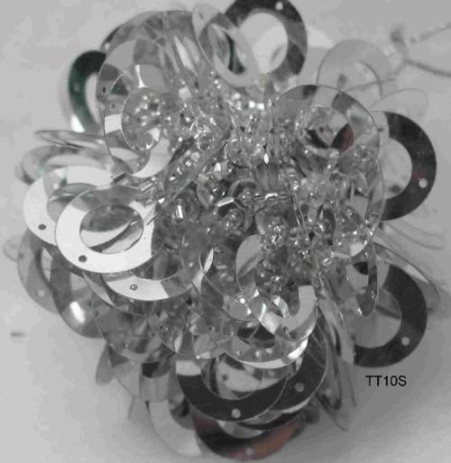 Ball Shimmy Silver TT10S