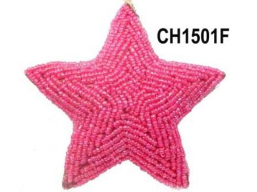 Star Bead Fuschia CH1501F