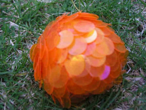 Ball Shimmy Flame orange BL16Q