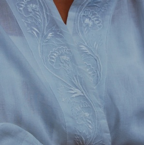 Robe Embroidered Organic Cotton Fair Trade