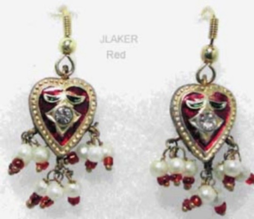 Lak Earring Red JLAKER