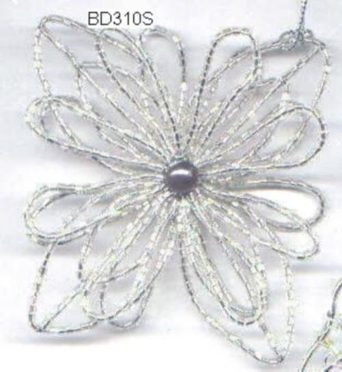 Flower Silver BD310