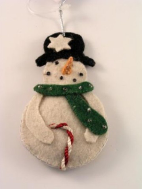 Snowman with cane A402