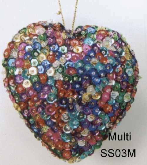 Heart Multicolored SS03M