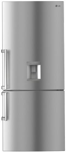450L Bottom Mount Fridge Anti-fingerprint Shiny Steel Finish