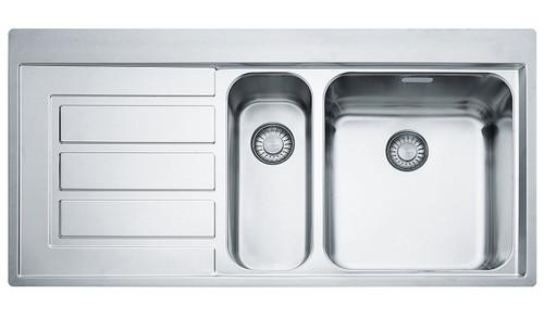 Epos 1 & 1/4 Bowl Left Hand Drainer Sink