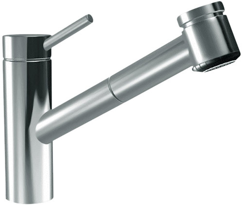 Inox Pull-Out Tap
