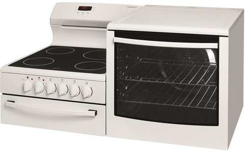Elevated Freestanding Cooker with fan forced oven