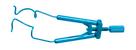 Lieberman Temporal Eye Speculum For Lasik Surgery Titanium Design