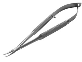 Barraquer Needleholder Curved without lock