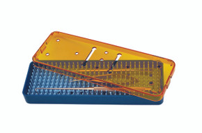 Instrument Sterilization Tray 7.5'' x 2.2'' x 0.75'' (CP778)