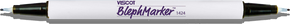 Viscot Twin Tip Skin Marker with Ultrafine Tip on both ends -& Ruler-Sterile (Blephmarker) (1424SR-100)