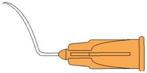 3925  Irrigating Cystotome - 45º Angled Tip