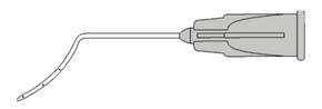 7527 LASIK Irrigator - Assis - 3 Ports Flattened Tip
