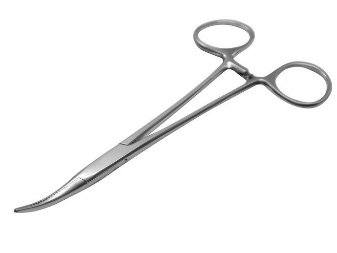 Halsted Mosquito Forceps, Curved