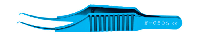 Micro Colibri Corneal Forceps, 0.12mm Titanium