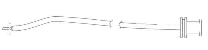 Viscous Infusion Cannula - High Viscosity Tubing 16cm