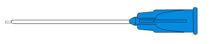 7723 Subretinal Fluid Cannula 23G - 1.5mm