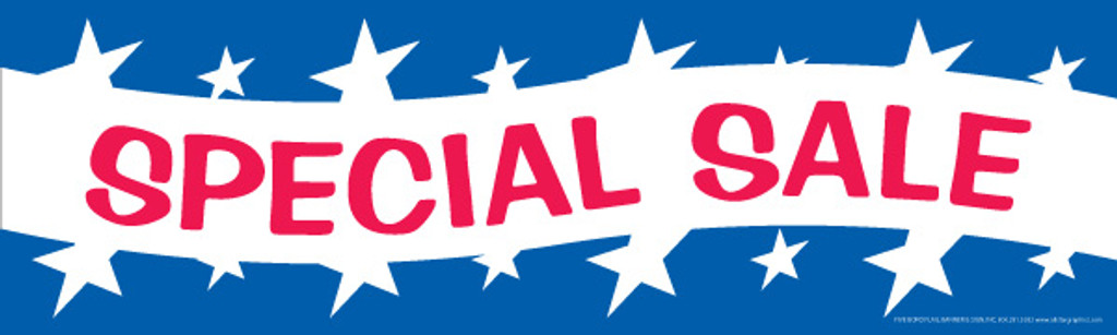 Special Sale Banner