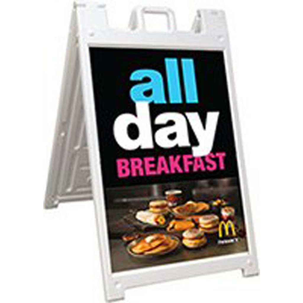 2'x3' Double Sided A-Frame Sign 1