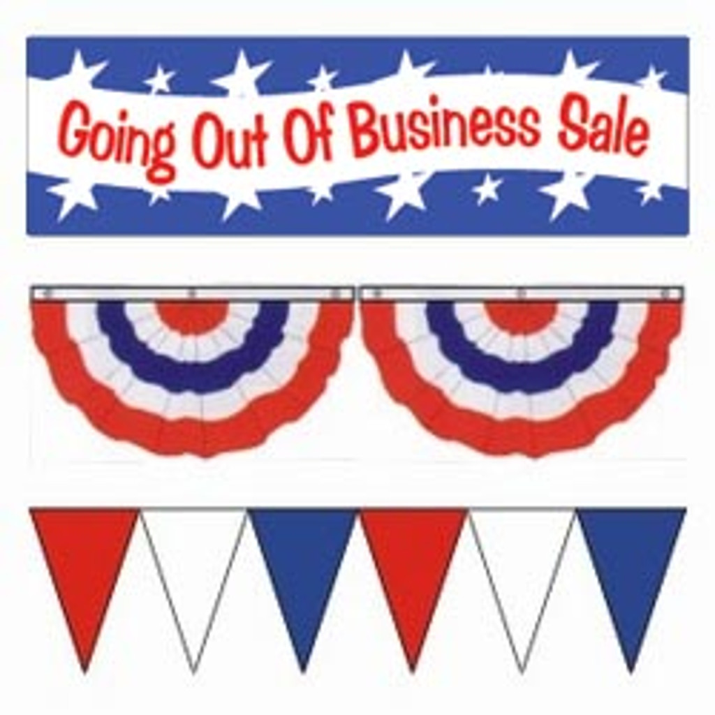 Small Going Out Of Business Sale Package
