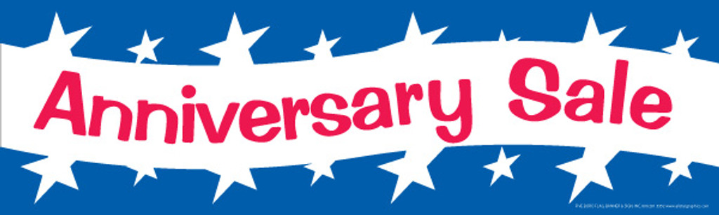 Anniversary Sale Banner