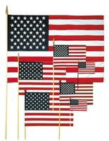 """4"""" x 6"""" Handheld US Flags"""