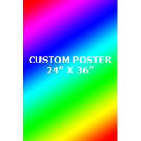 2' x 3' Custom Full Color Poster