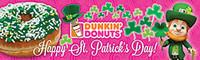 Custom St. Patrick's Day 3'x10' Banner