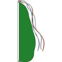 Style B - Green Feather Dancer Flag