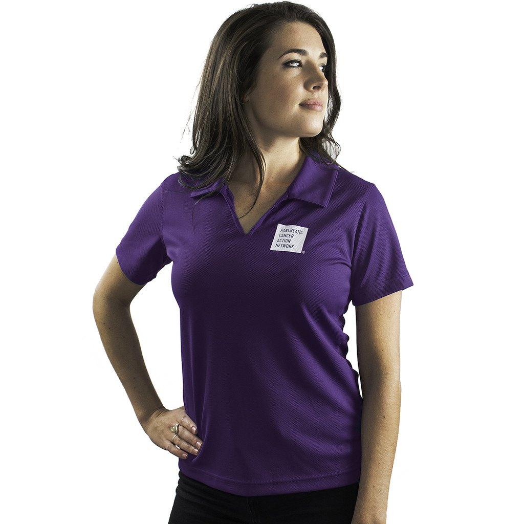 PanCAN Polo Shirt/Ladies