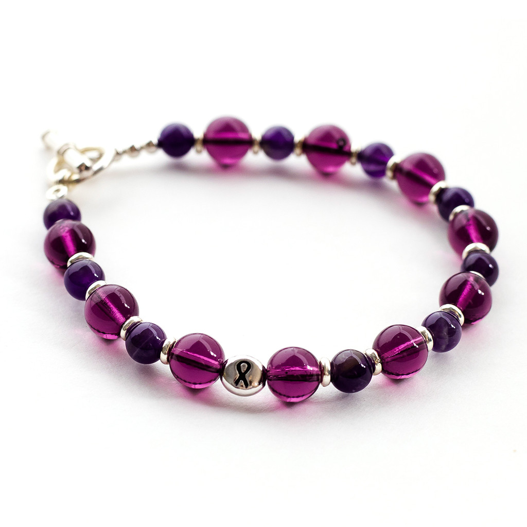 Amethyst Awareness Bracelet