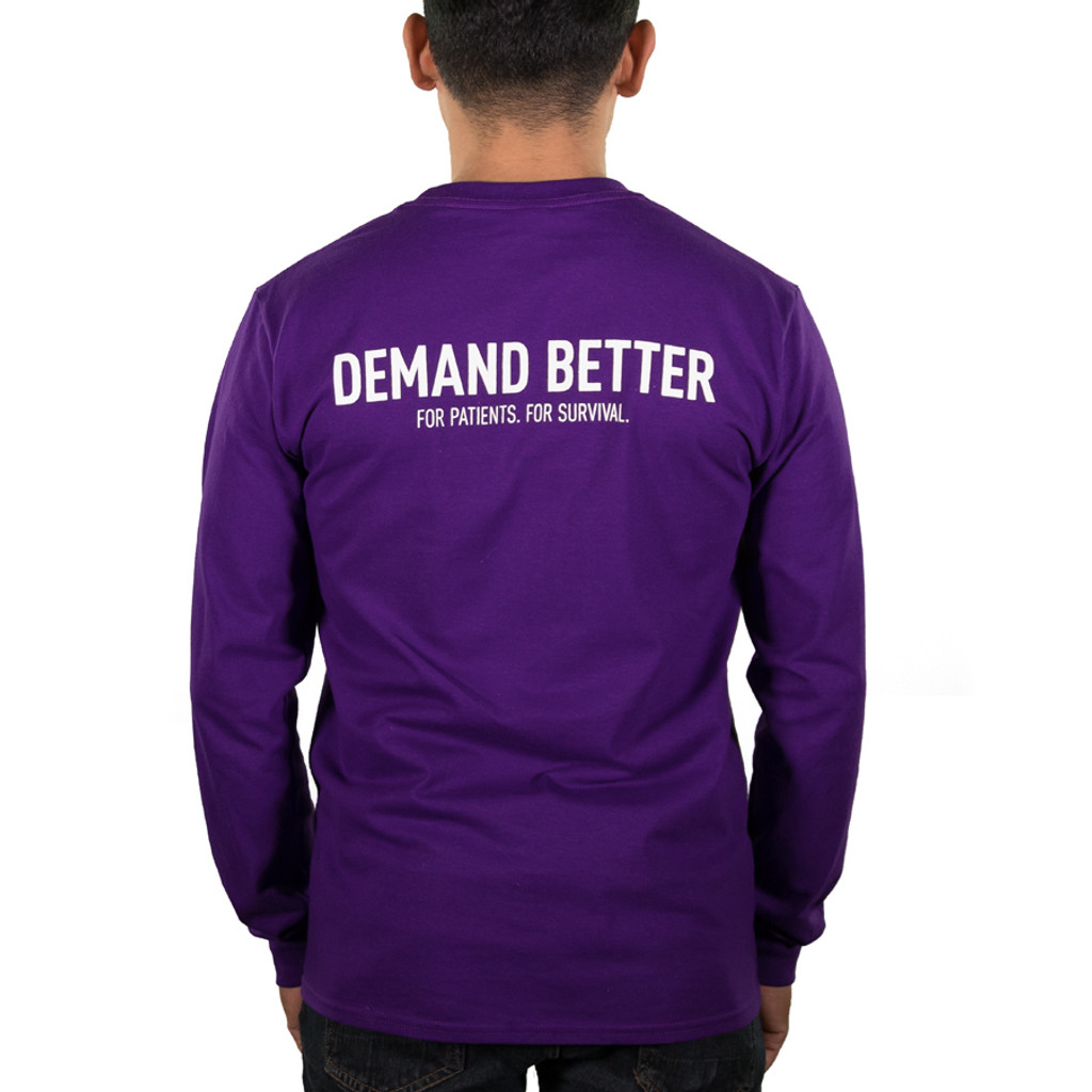 Demand Better Long Sleeve/Unisex/For Him