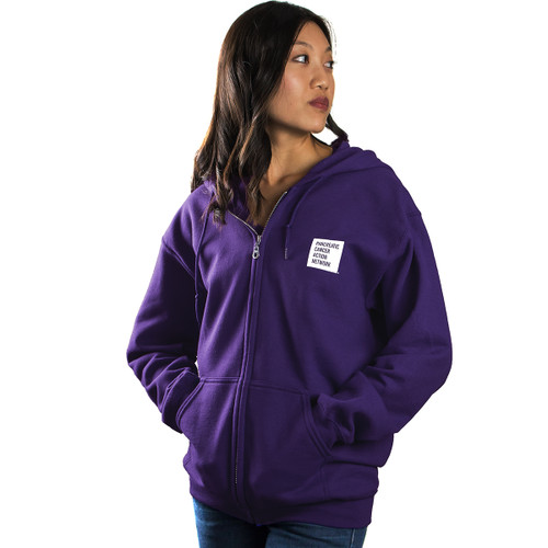 Wage Hope PanCAN Zippered Hoodie/Unisex/For Her