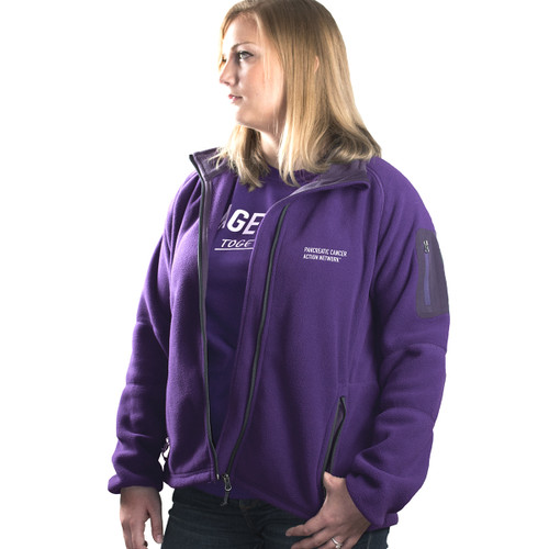 PanCAN Fleece Jacket/Ladies  S-XL only