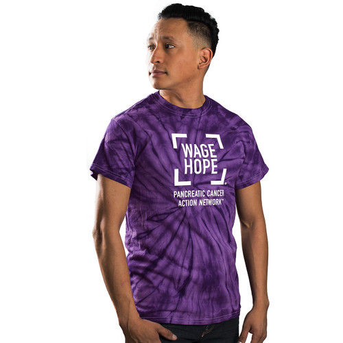 Wage Hope Tie Dye T-Shirt/Unisex/For Him