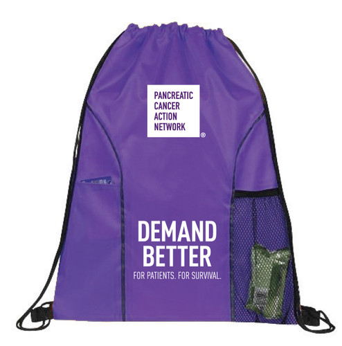 Demand Better Drawstring Bag