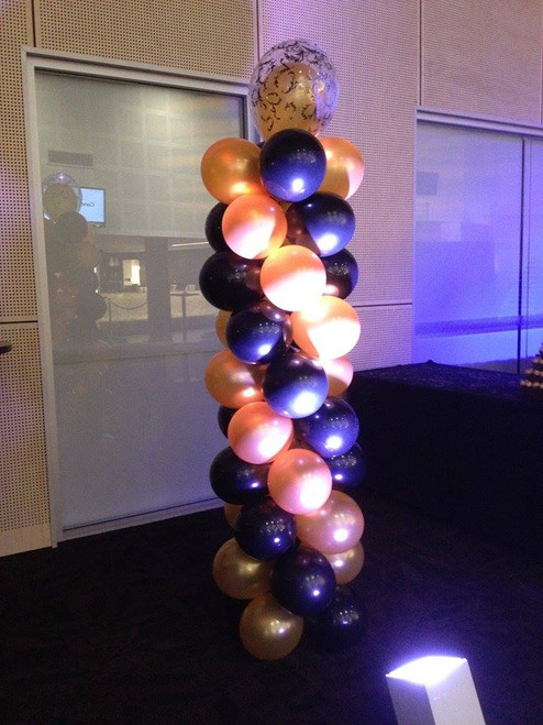 Black & Gold Column