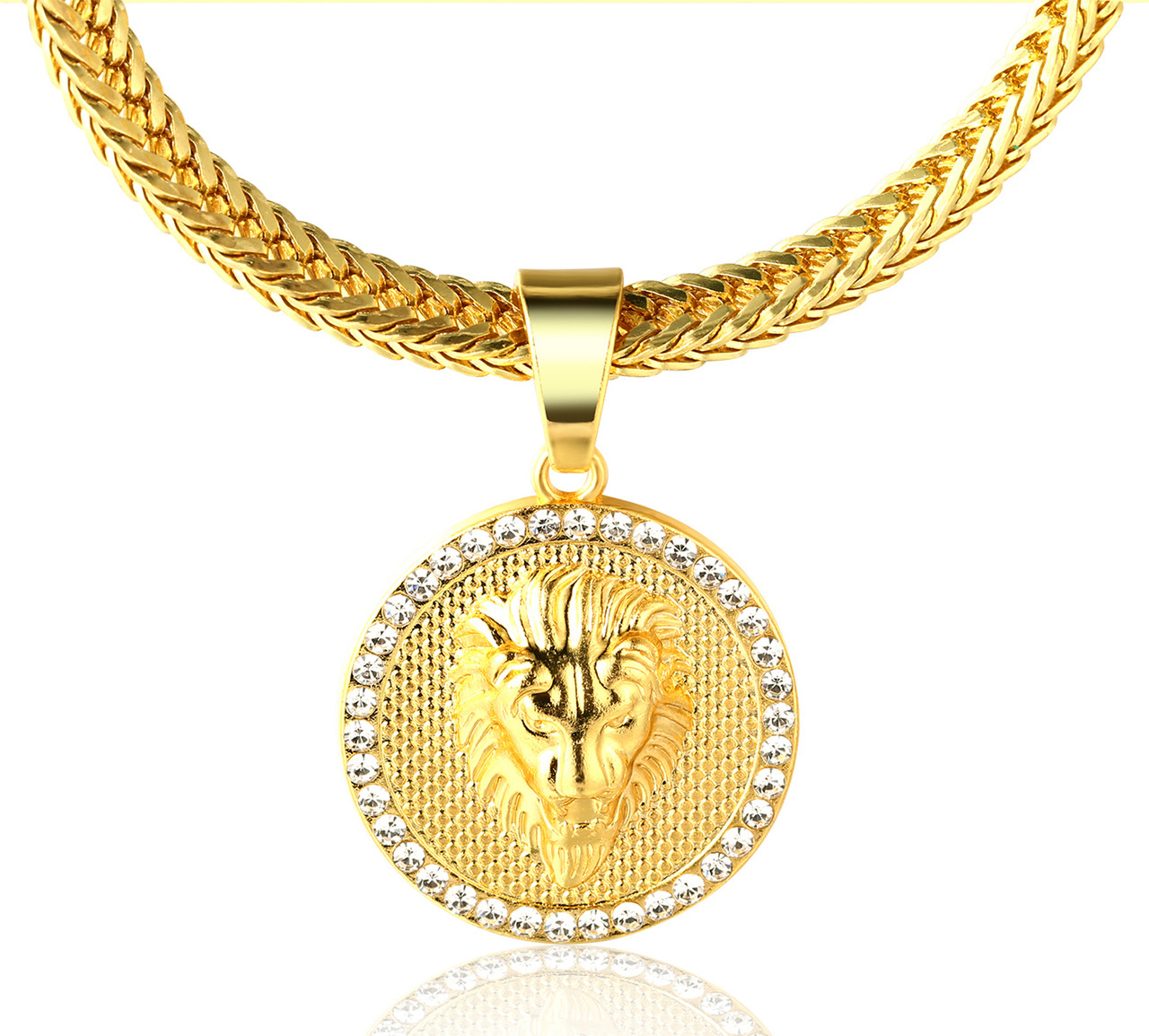 real n diamond italian itm gold solid yellow rope chain cut necklace
