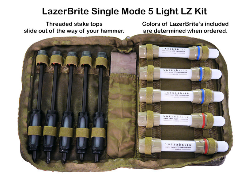 LazerBrite 5 Light Single Mode LZ/DZ - Kit