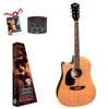 REDDING   Dreadnought electric/acoustic. Left hand Guitar